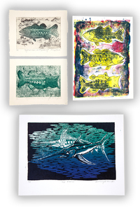 Four Courtney Smith Artworks, Fish