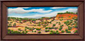 C. Bonner Landscape Painting