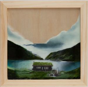 Three Maria Medina-Schechter Mixed Media, Faroe Islands