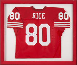 Autographed Jerry Rice Jersey