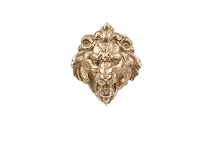 14k Gold Lion Pendant, 8.6 grams