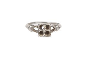 Platinum Ring, 3.4 grams