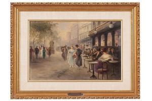 Emil Barbarini (1855-1933) Painting