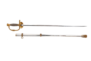 1860 Staff and Field Sword and Scabbard