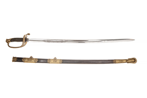 1850 Foot Officer's Sword and Scabbard