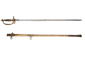 1860 General Officer's Sword and Scabbard