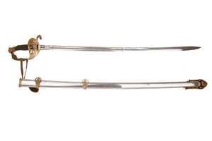 1850 Staff and Field Sword and Scabbard