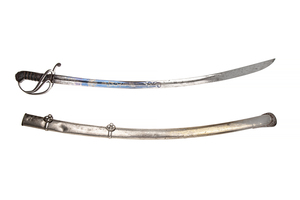 Artillery Officer's Sword and Scabbard