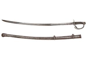 1840 Tiffany Iron Hilt and Scabbard