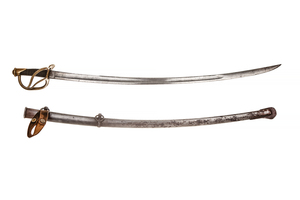 1840 Cavalry Saber Sword and Scabbard