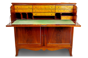 New York Federal Mahogany Butler's Desk, ca.1810