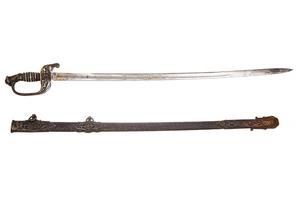 Superb Civil War Presentation Grade 1850 Staff & Field Officer's Sword Variant