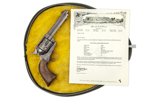 Colt Single Action Revolver with Factory Letter