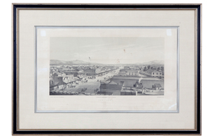 Birds-Eye View City of San Jose 1858