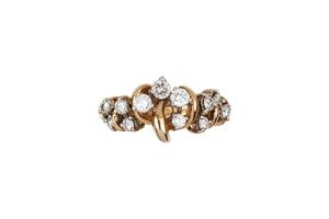 14k Diamond Ring