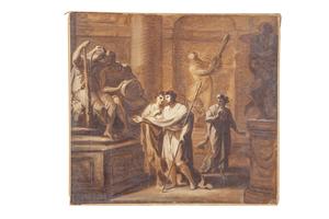 In the Manner of Antonio Zucchi (1726-1795) Gouache