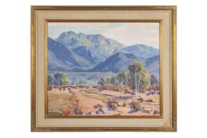 Paul Lauritz (1889-1975) Painting