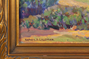 Harvey B Coleman (1884-1959) Painting
