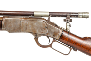 1873 Winchester Rifle with Slotterbek Telescopic Sight