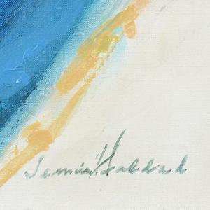 JENNIE HADDAD (American/Texas 1906-1996) A PAINTING,