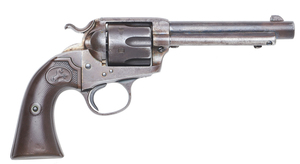 Cole Younger's Colt Bisley Single Action Army Revolver
