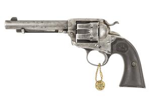 John R. Hughes' Colt Bisley Single Action Revolver