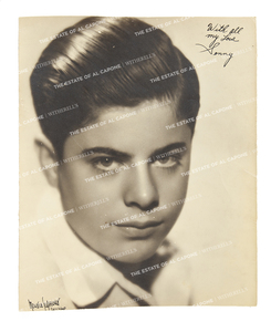 Vintage Silver Print Photograph of Sonny Capone