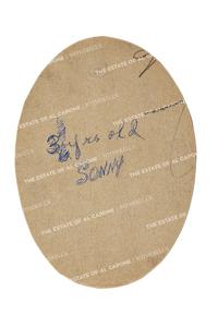 Vintage Tinted Sketch of Sonny Capone