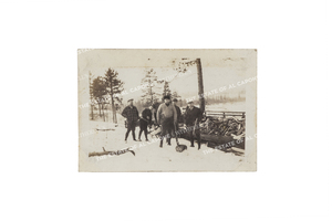Vintage Silver Print Photograph of Al Capone and Friends