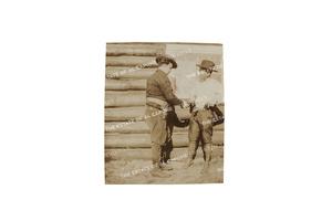 Vintage Silver Print Photograph of Al Capone