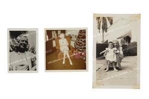 Three Photographs of Mae Capone