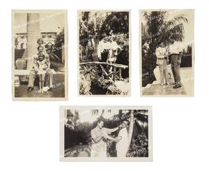 Four Vintage Silver Print Photographs of Sonny Capone
