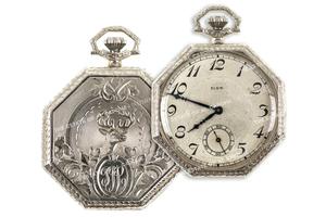 Sonny Capone's 14k White Gold Elgin Watch