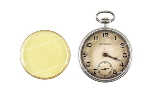 Al Capone's Platinum and Diamond Patek Philippe Pocket Watch