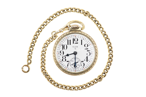 Sonny Capone's Elgin Pocket Watch and Chain