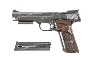 Sonny Capone's Smith and Wesson Target Pistol