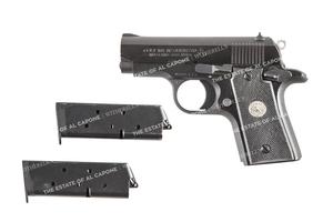 Sonny Capone's Colt MK IV Pistol
