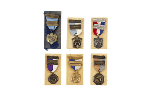 Sonny Capone's Shooting Medals