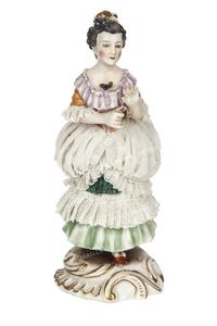 Al and Mae Capone's German Figurine