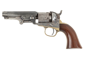 Cased Colt 1849 Pocket Revolver & Accessories