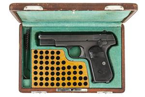 Cased Colt Model 1903 .32 Caliber Hammerless Pistol