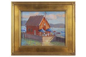 Silvio Silvestri (b. 1948) Painting
