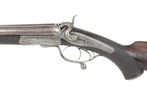 Alex Henry Side by Side Breech Loading Double Rifle