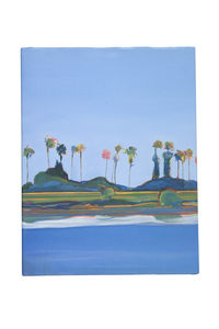 """Autographed Hard Cover, """"A Touch of Blue, Landscapes by Gregory Kondos """""""
