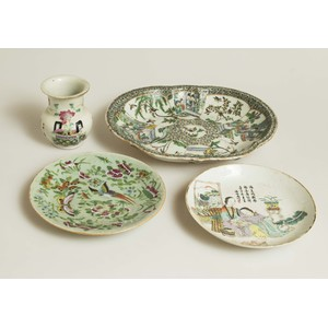 Four Chinese Porcelain Items