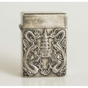 Chinese Silver Card Case