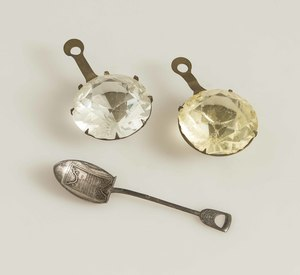 Two PPIE Jewels & Souvenir Spoon