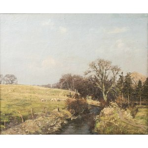 William A Carrick Painting