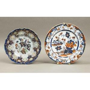 2 Porcelain Plates