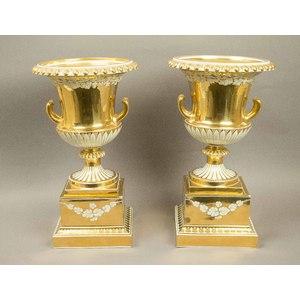 Royal Vienna Porcelain Urns